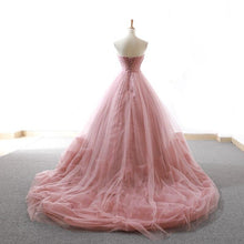 Load image into Gallery viewer, Elegant Ball Gown Lace Tiered Quinceanera Dresses SP14760