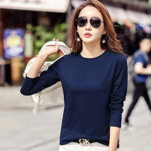 Load image into Gallery viewer, 9 Colors Long Sleeve Top Shirt SP14819