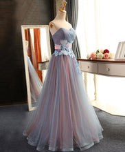 Load image into Gallery viewer, Sweetheart Neck Tulle Long Prom Dress, Evening Dress