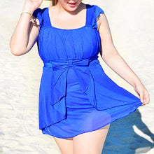 Load image into Gallery viewer, 3XL-6XL 4 Colors Fashional One Piece Swimsuit SP165561