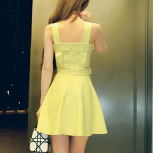 Load image into Gallery viewer, Final Stock! 4 Colors Sweet Bow Sundress SP1812571