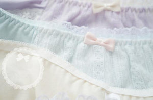 5 Colors Pastel Candy Lace Undies SP164903
