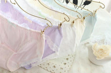 Load image into Gallery viewer, 5 Colors Pastel Candy Lace Undies SP164903
