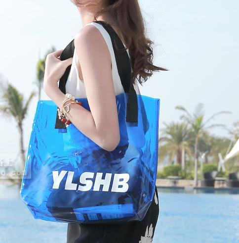 8 Colors Jelly Holiday Baggy Shoulder Bag SP152559