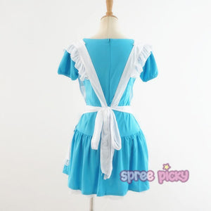 Blue Cutie Maid Dress SP141198