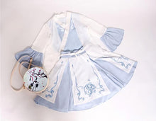 Load image into Gallery viewer, Pastel Blue Chinese Style Dress SP1710485