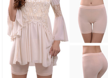 Load image into Gallery viewer, L-3XL Black/White/Beige Comfortable Lace Safety Shorts SP166522
