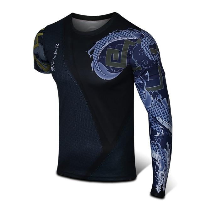 Final Stock! S-3XL Overwatch Hanzo T-Shirt with Arm Sleeve SP167960