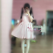 Load image into Gallery viewer, S/M Pink Kawaii Neko Cat Dress SP167111