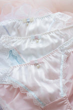 Load image into Gallery viewer, White/Pink/Blue Milky Lace Undies SP164910