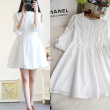 Load image into Gallery viewer, White Sweet Simply Lovely Lace Dress SP179220