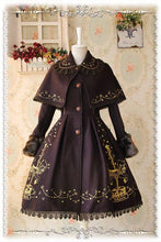Load image into Gallery viewer, S-XL 4 Colors Lolita Embroidery Midi Cape Coat SP168504