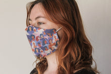 Load image into Gallery viewer, Reusable mask 'women of the world' illustration