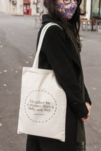 Load image into Gallery viewer, Tote bag quote