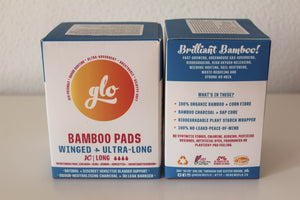 Ultra-long bamboo pads (with wings)