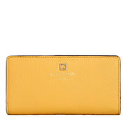 Kate Spade Grant Park Stacy Wallet- Lemon Souffle