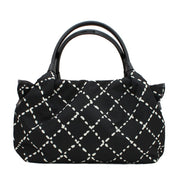 Kate Spade Sew Be It Stevie Bag- Black-Cream