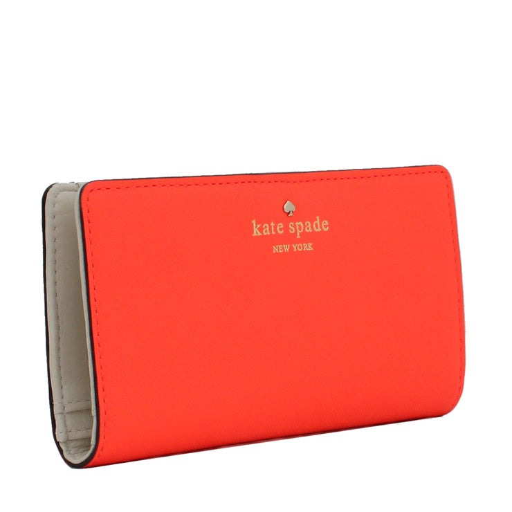 Kate Spade Mikas Pond Stacy Wallet- Neon Turquoise