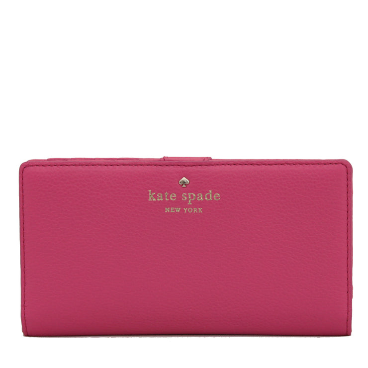 Kate Spade Cobble Hill Stacy Wallet- Strawfroyo