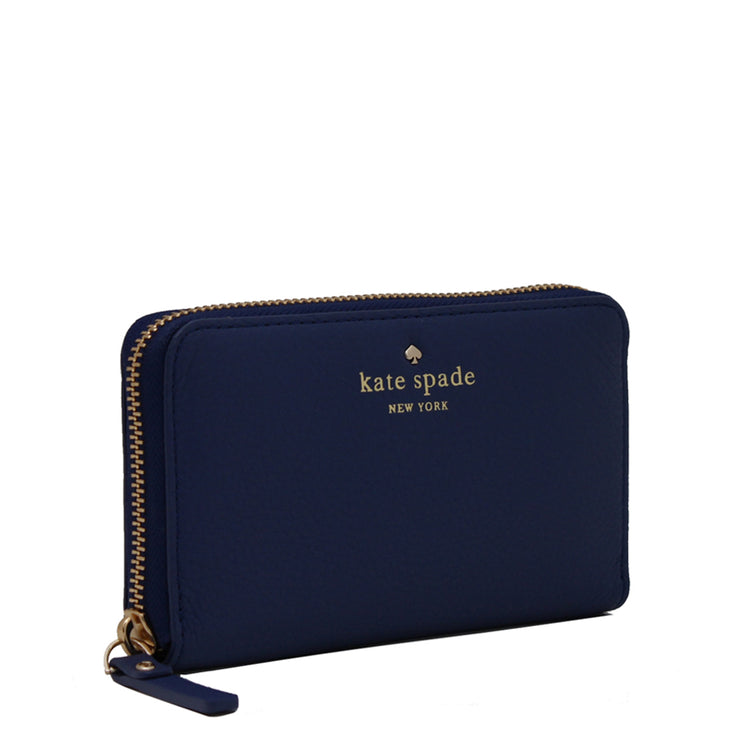 Kate Spade Cobble Hill Medium Lacey Wallet- Strawfroyo