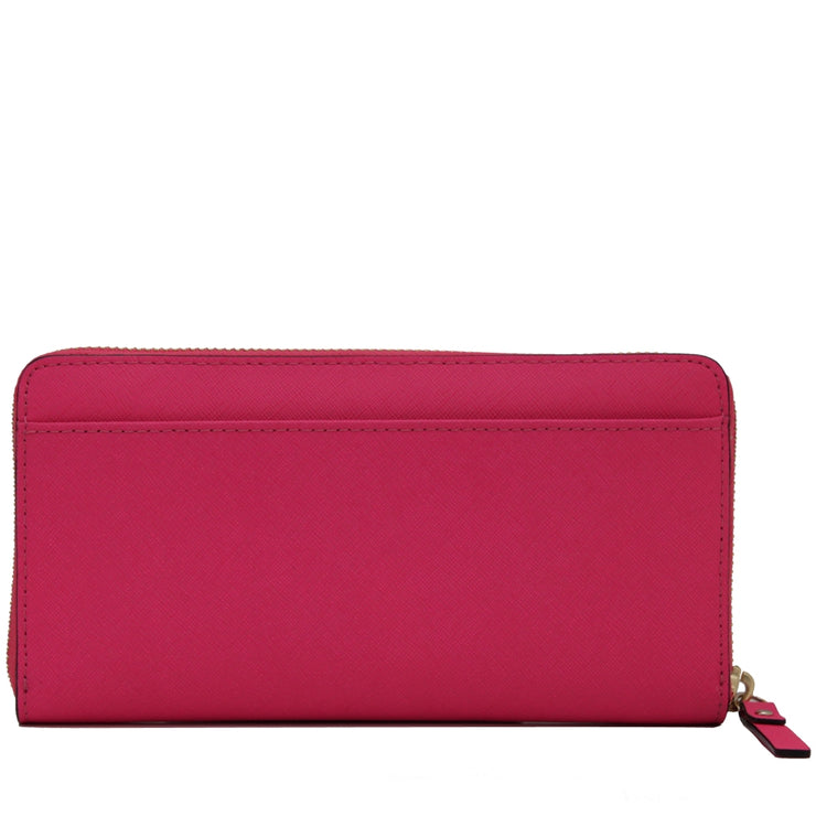 Kate Spade Mikas Pond Lacey Wallet- Red Plum