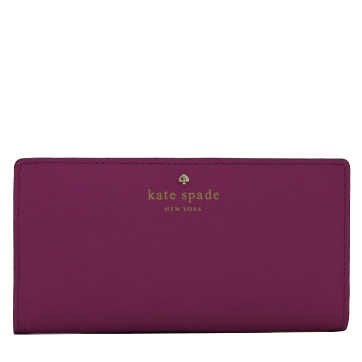 Kate Spade Mikas Pond Stacy Wallet- Sugared Grape