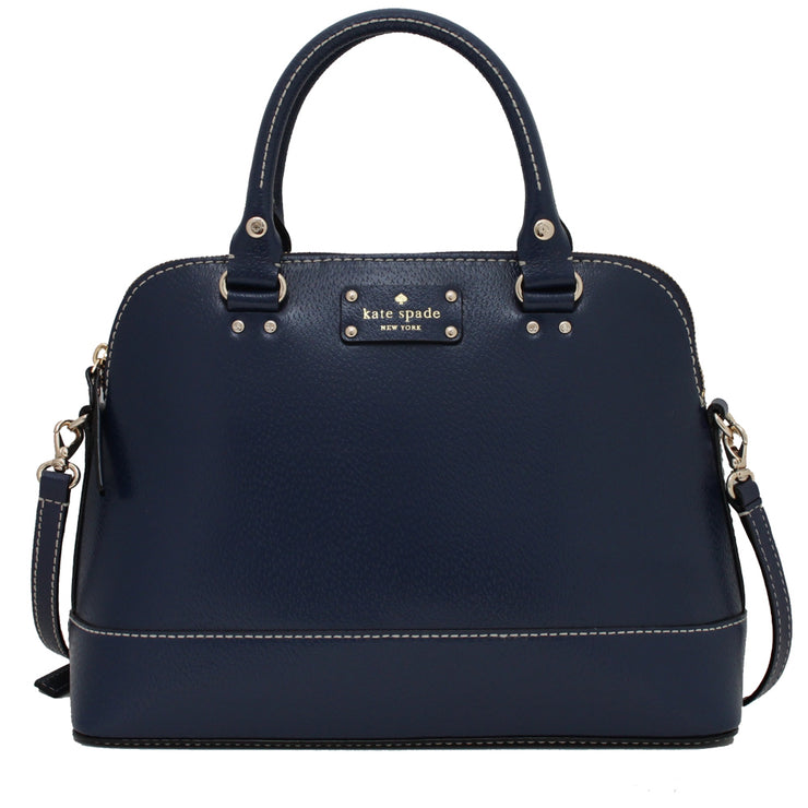 Kate Spade Wellesley Small Rachelle Bag- French Navy
