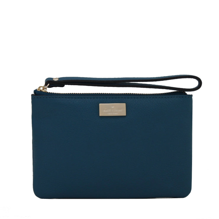 Kate Spade Highland Place Bee Wristlet- Dark Denim