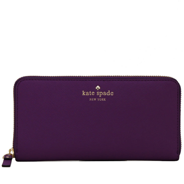 Kate Spade Mikas Pond Lacey Wallet- African Violet
