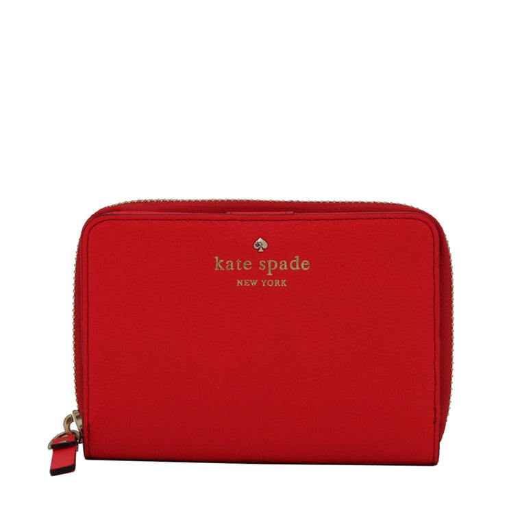 Kate Spade Cobble Hill Asby Wallet- Geranium
