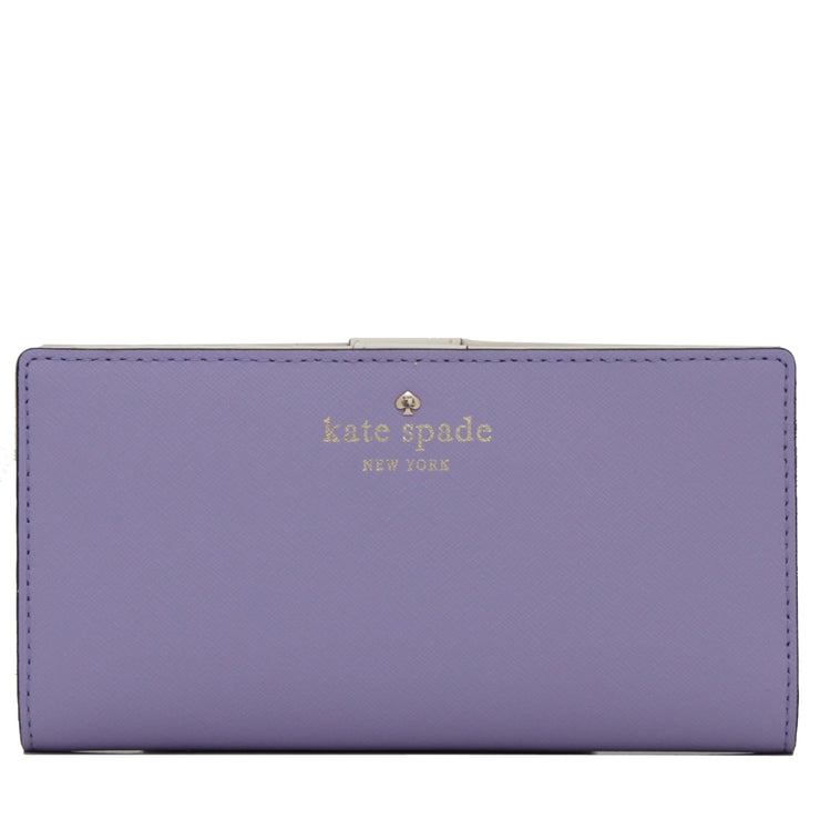Kate Spade Mikas Pond Stacy Wallet- Faded Hydrangea