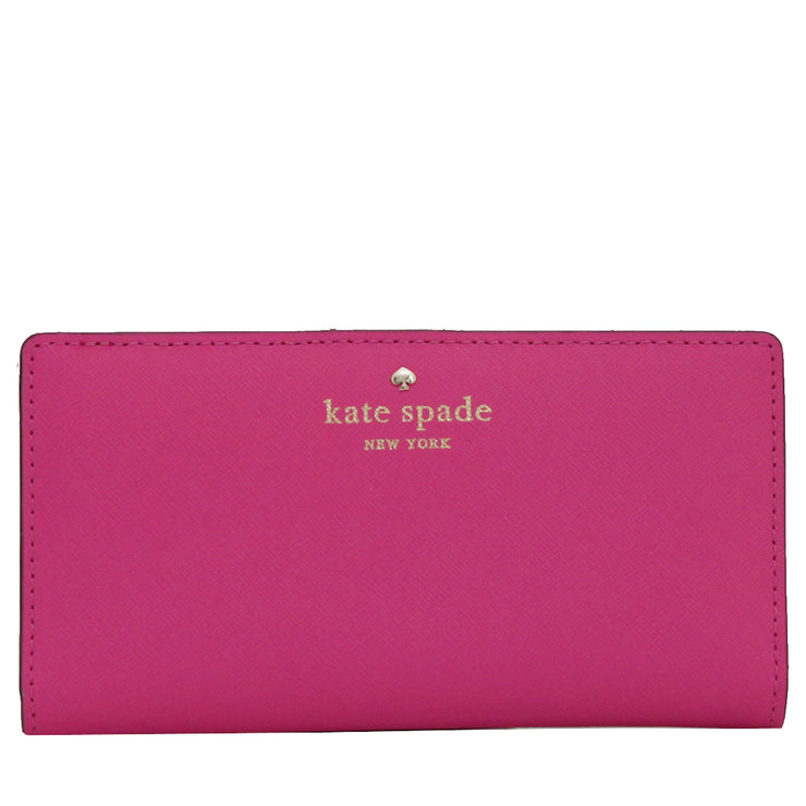 Kate Spade Mikas Pond Stacy Wallet- Bougainvillea