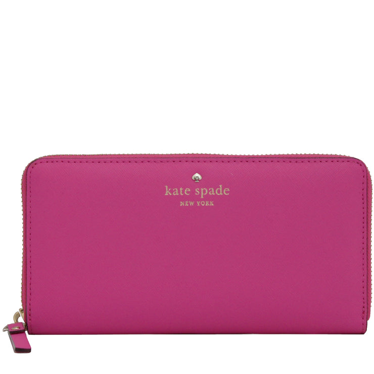 Kate Spade Mikas Pond Lacey Wallet- Bougainvillea