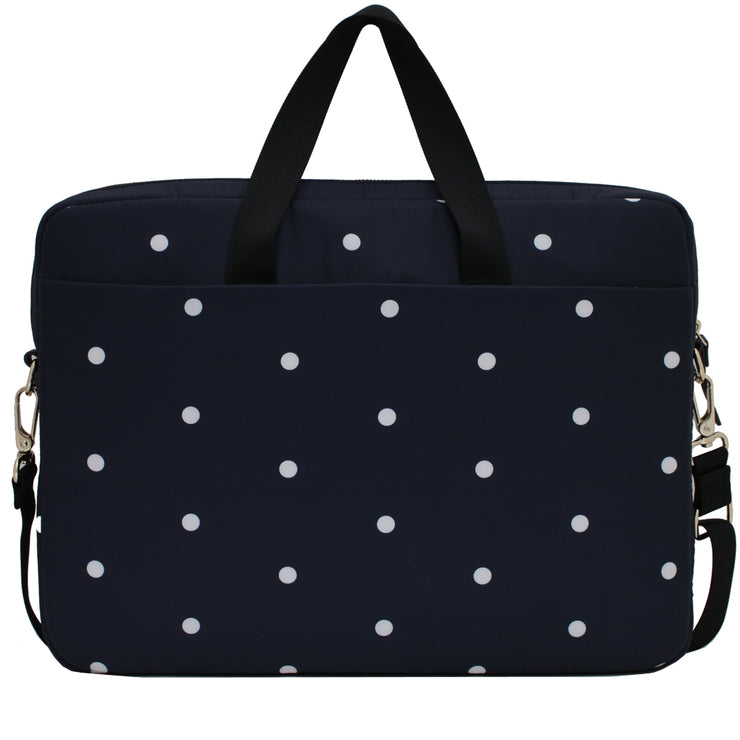 Kate Spade Celebration Dot 15 Inch Laptop Commuter Bag- Rich Navy