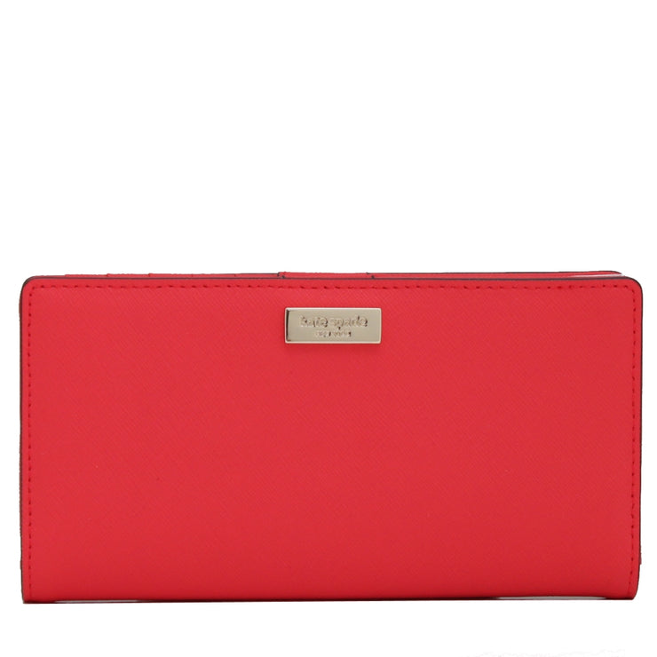 Kate Spade Newbury Lane Stacy Wallet- Geranium