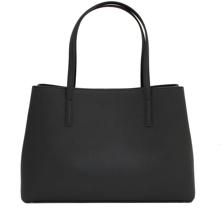 Kate Spade Maiden Way Saffiano Clarke Bag- Black