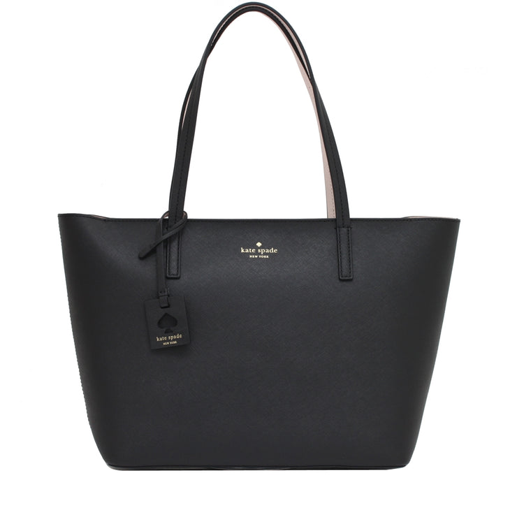 Kate Spade Scotts Place Lida Bag- Black- Almondine