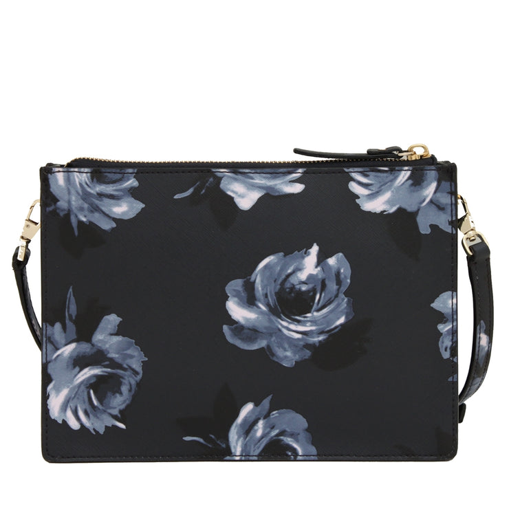 Kate Spade Cameron Street Night Rose Clarise Bag- Rich Navy Multi