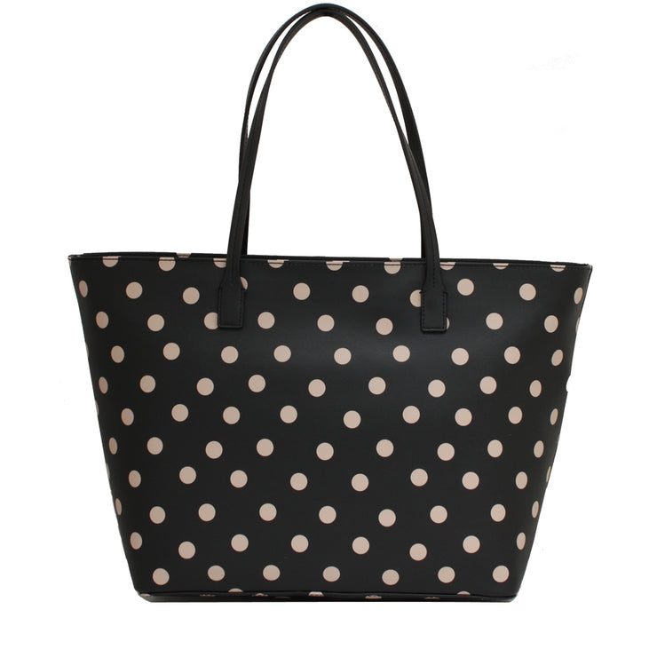 Kate Spade Shore Street Margareta Bag- Black- Deco Beige