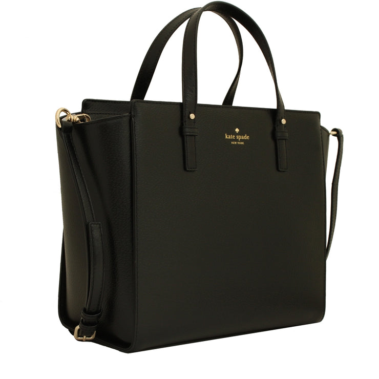 Kate Spade Grand Street Hayden Bag- Black