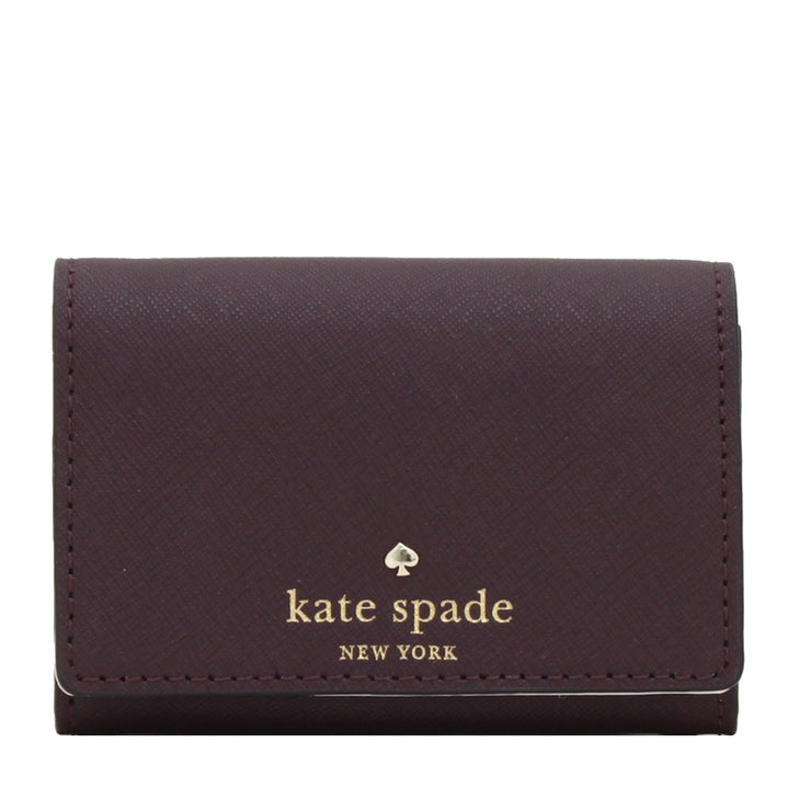Kate Spade Mikas Pond Christine Card Holder- Mahogany
