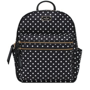Kate Spade Wilson Road Diamond Dot Bradley Back Pack Bag- Black Multi