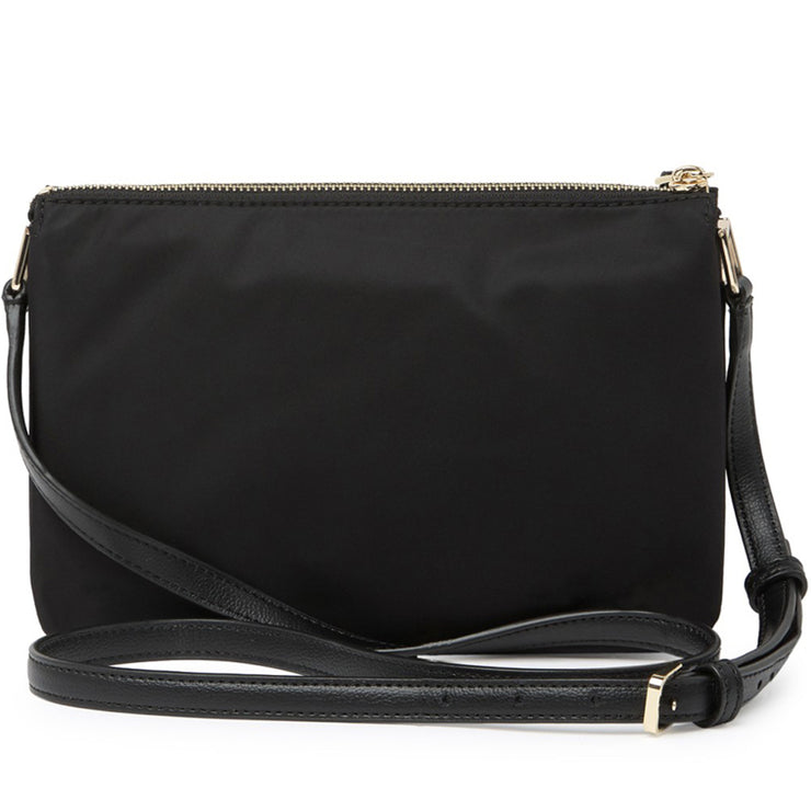Kate Spade Dawn Triple Gusset Crossbody Bag- Black