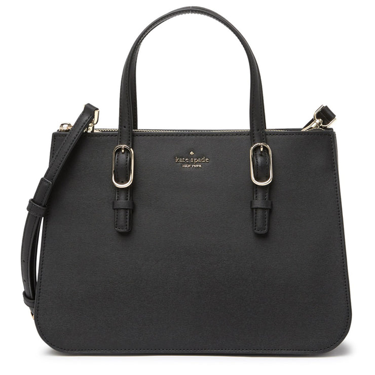 Kate Spade Connie Medium Triple Gusset Satchel Bag- Black