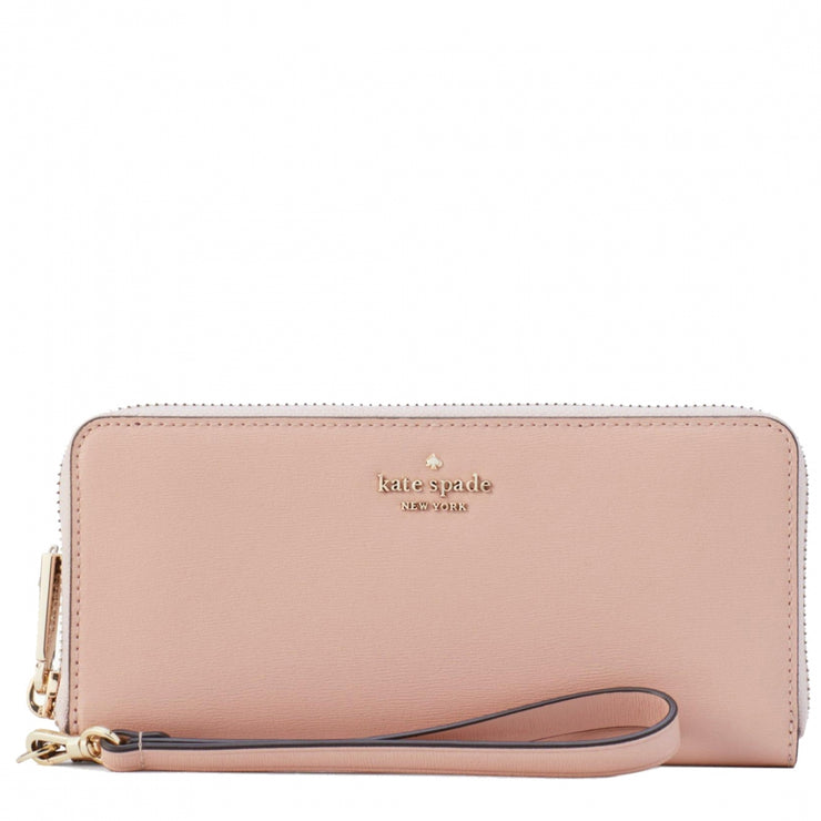 Kate Spade Connie Slim Continental Wallet WLRU5554 in Rosy Cheeks