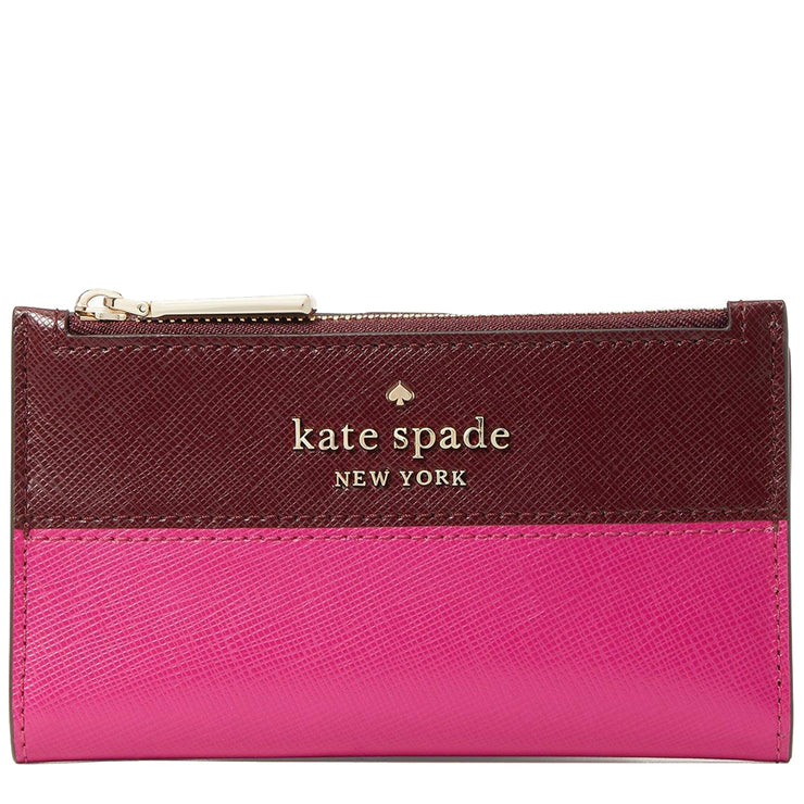 Kate Spade Staci Colorblock Small Slim Bifold Wallet