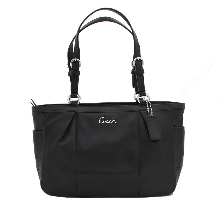 Coach Leather Gallery East West Tote Bag