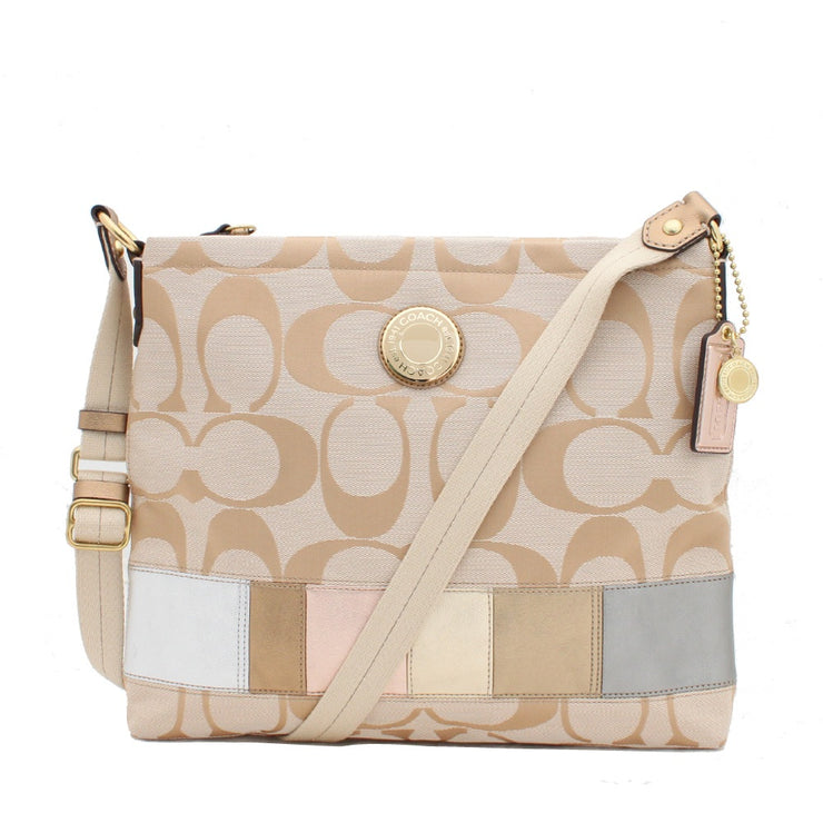 Coach Signature Stripe Multi Stripe Bag