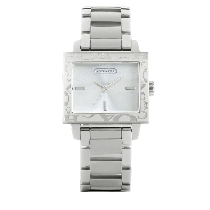 Coach Ladies' Stainless Steel Amanda Watch w Signature Bezel