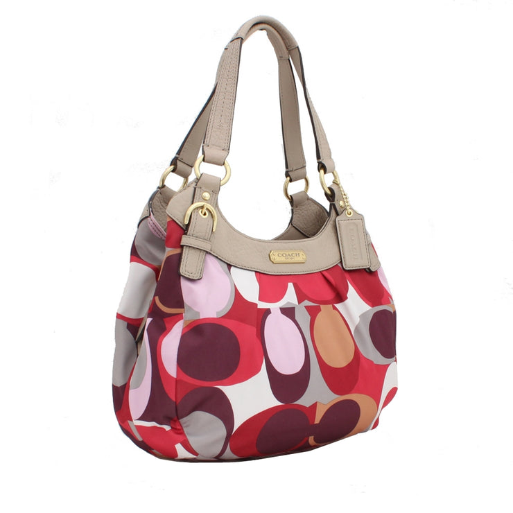 Coach Soho Scarf Print Hobo Bag- Multicolour